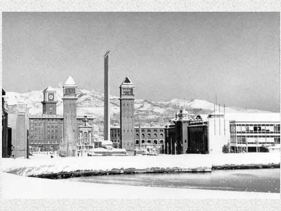 Barcelona. La gran nevada de 1962-10