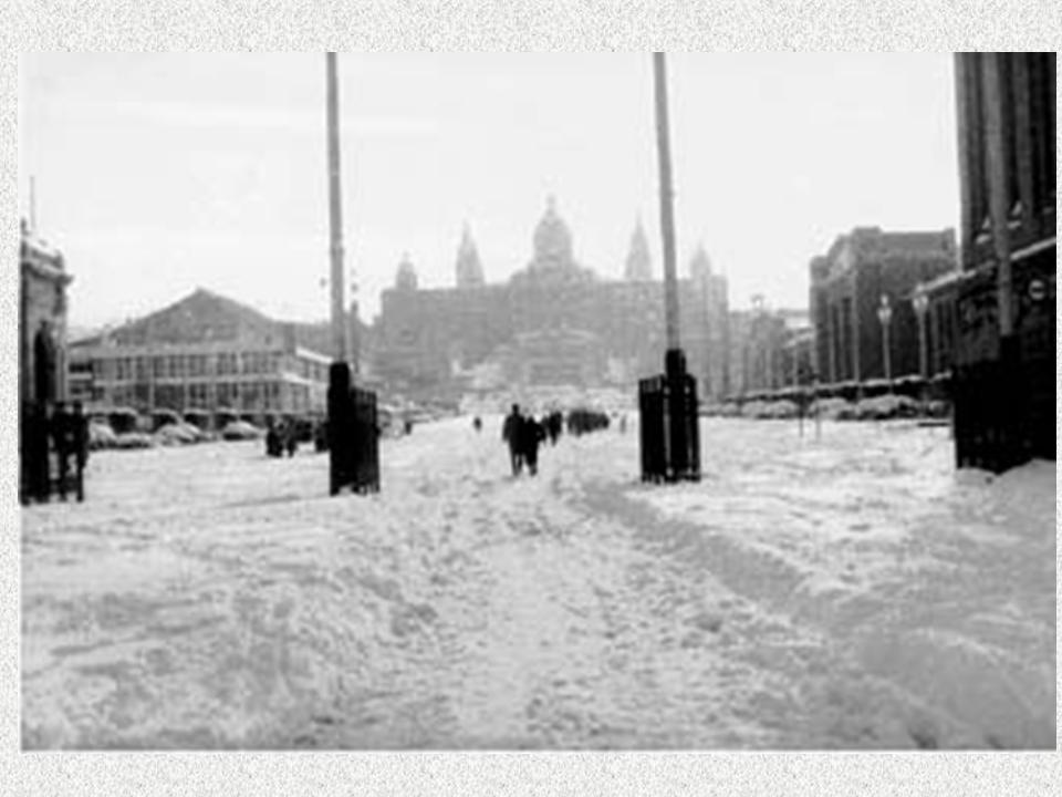Barcelona. La gran nevada de 1962-11