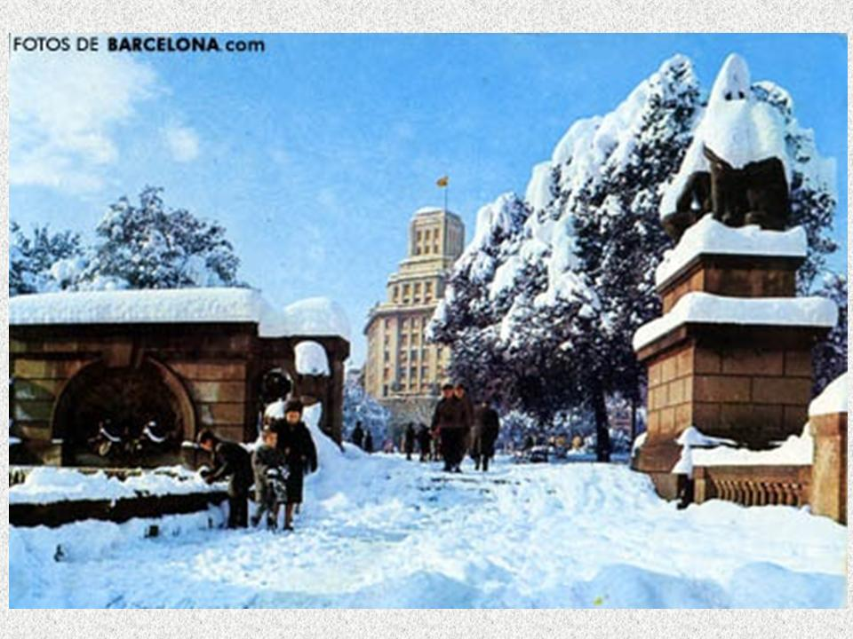 Barcelona. La gran nevada de 1962-9