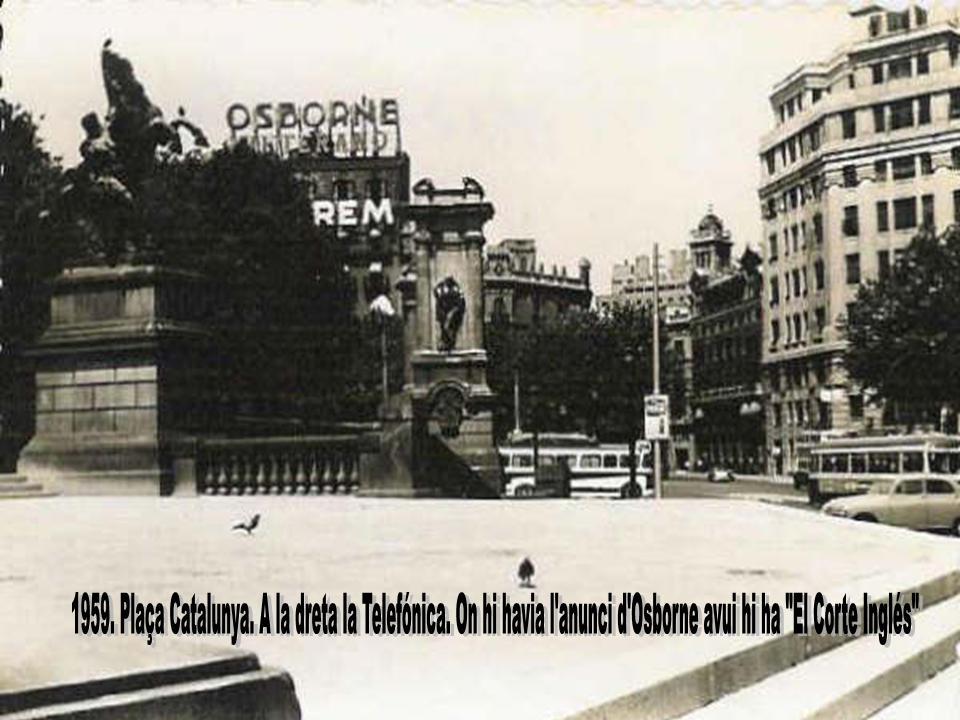 Plaça Catalunya (1959)