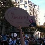 Fotos de la manifestación de Barcelona